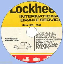 A Catalogue of Lockheed Brake Parts   circa 1959 ~ 1969 DVD ROM