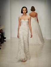 Kenneth Pool Lucienne Ivory Tulle NEW Wedding Dress 8 RETURN POLICY