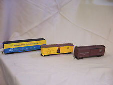 LOT 3 HO SCALE FREIGHT BOX CARS PA 29083 C&I.M.M 8004 LUNX NEATHERLANDS 70254 r