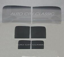 1940 1941 1942 FORD PANEL DELIVERY TRUCK  2PC WINDSHIELD DOORS & BACK GLASS GREY