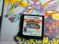 Unlocked Pokemon White 2 All 649 with PokEdit Nintendo DS DSi 3DS Good