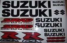 Set of SUZUKI GSXR / SRAD  1000 - Sticker / Decal Kit