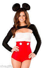 Ladies Mickey Minnie Mouse Costume - Great for Halloween