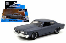 JADA 97379 FAST AND FURIOUS DOM'S CHEVROLET CHEVELLE SS 1:32 MATTE GREY
