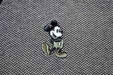 Men's Disney World Land Resort Park Short Sleeve Mickey Mouse Gray Polo Shirt XL