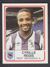 Panini - Football 84 - # 342 Cyrille Regis - West Bromwich Albion
