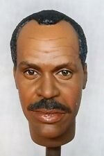 1:6 Custom Head Danny Glover Murtaugh Lethal Weapon