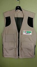 Fuji Film Photographer's Photo Travel Fishing Safari Khaki Vest Size Large