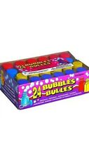 24 packs of bubbles childrens party loot bag favors