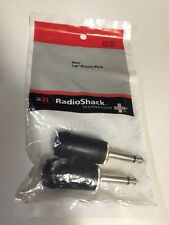 "Mono 1/4"" Phone Plug #274-1539 By RadioShack"