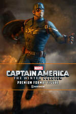 CAPTAIN AMERICA WINTER SOLDIER PREMIUM FORMAT STATUE SIDESHOW FIGURE IN STOCK