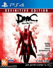 Devil May Cry: Definitive Edition (PS4) Rus/Eng/Deutsch,italiano,French,Spanish