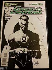 DC Comics:Green Lantern #1 B&W Variant New 52 1st Print, Geoff Johns