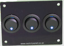 VW T1/T2/T3/T4/T5 Transporter Triple Switch Panel 12V Splitty Bay CBE