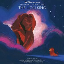 THE LION KING CD SOUNDTRACK - LEGACY COLLECTION [2 DISCS](2014) - NEW UNOPENED