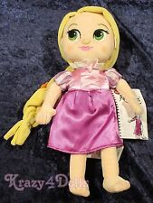 Disney Tangled Animators' Princess Rapunzel Toddler Plush Doll New with Tags!