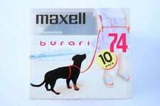 MAXELL burari PINK 74 10PACK MD MINIDISC SEALED JAPAN