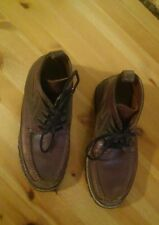 Boys Cole Haan Brown Leather Hiking Ankle Dress Boots Size 6M.