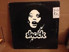 SHOCK GET OFF ~ TALK ABOUT LOVE  PIC SLEEVE LUCKY RECORDS VINYL 12''
