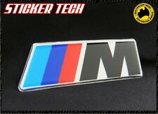 CHROME M TEC BADGE STICKER LOGO EMBLEM TO SUIT BMW E36 46 M3 5 Z3 M5 X5 X6