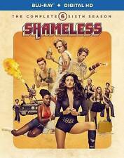 NEW Shameless: The Complete Sixth Season (2-disc Blu-ray + Digital HD, 2016)