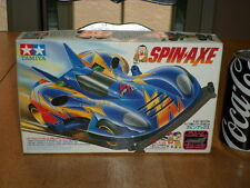 """SPIN AXE- FULLY COWLED MINI 4WD SERIES, Plastic Car Model """" SNAP TOGETHER"""": 1/32"""