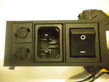 Bulgin Fused Mains Input Switch - Snap in - IEC Inlet 2 pin - New