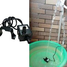 DC12V Motor Micro Brushless Water Oil Pump Submersible 240L/H 5W Lift 3M 0~60℃