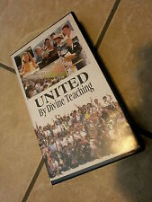 UNITED BY DIVINE TEACHING VHS Video Watch Tower Jehova's Witness Religion Unity