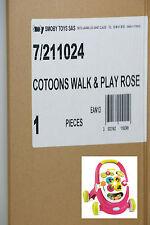 Smoby Cotoons Lauflernwagen und Spielstation, Rosa