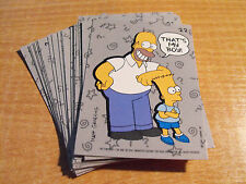 Simpsons 1990 juego completo de 22 Pegatinas