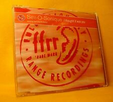 MAXI Single CD Sex-O-Sonique I Thought It Was You 4TR 1997 Deep House
