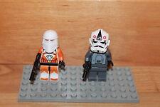Lego Star Wars - AT-AT Pilot und Snow Tropper mit Blaster Waffen 7665
