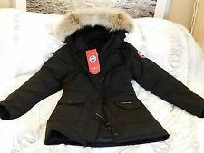 BRAND NEW BLACK (RED LABEL) CANADA GOOSE TRILLIUM X-LARGE ARCTIC PARKA JACKET