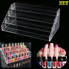 4Tiers Acrylic Nail Polish Cosmetic Varnish Retail Display Stand Rack Organizer