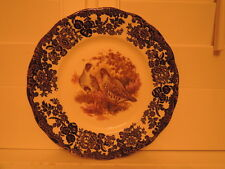 Vintage Royal Worcester Palissy Game Series Quails Dinner Plate