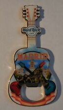 Hard Rock Cafe Guitar Magnet Bottle Opener Madrid Spain New