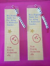 Great Little Teachers End Of Year Gift - Personalised Book Mark - Take A Look