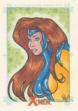 X-Men Archive - Color Sketch Card by Allen - Jean Grey ?