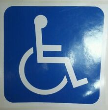 "HANDICAP PARKING SIGN DISABLED SYMBOL Vinyl Decal Sticker 6"" Inches"