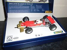 Scalextric/Superslot H3701a Lotus 49 #1 Hill, DPR m/b