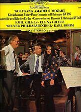 Mozart Lp Piano Concertos - Emil & Elena Gilels - Deutsche Grammophon