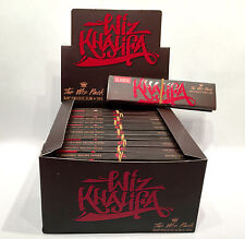 1 Box RAW Wiz Khalifa The Wiz Pack Rolling Papers Classic King Size 24 Packs