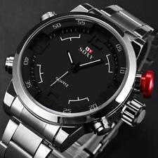 Reloj de pulsera, Soxy Luxus, acero inoxidable, Mov. Cuarzo. Relojes/Joyas. #733