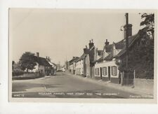 Wickham Market High Street & The Chequers Vintage RP Postcard 758a