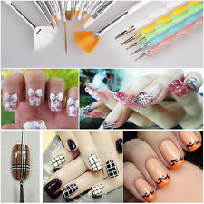 Nail Art Design Set-20pcs Dotting Painting Drawing Polish Brush Pen Tool set New