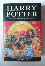 HARRY POTTER & THE DEATHLY HALLOWS J K ROWLING HBDJ FIRST EDITION 1ST BLOOMSBURY