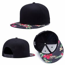 "Hip Hop Snapback Baseball Cap Hat Print ""Flower"" Style Men's womens Adjustable"