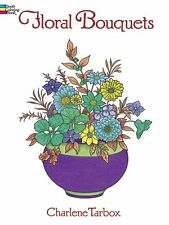 Coloring Book for Adults Flowers Floral Bouquets Painting Pattern Stress Relief