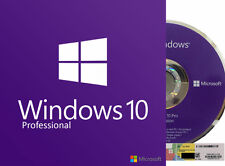 Microsoft Windows 10 Professional 64bit (OEM) System Builder Sealed & HP Laptop